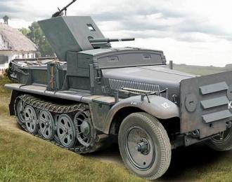 Сборная модель Бронетранспортёр 37mm PaK 35/36 auf Sd.Kfz 10