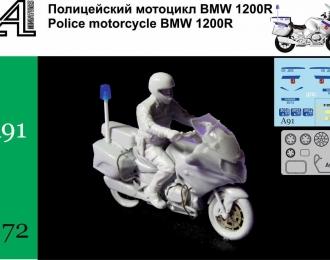 Сборная модель Мотоцикл BMW 1200 R ДПС