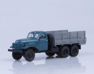 ЗИС 151 бортовой экспортный, синий / серый
