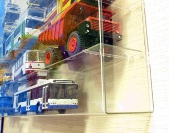 Стеллаж настенный для грузовиков и автобусов