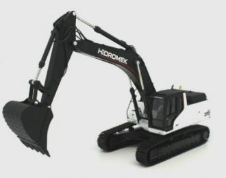 HIDROMEK 370 LC Crawler Excavator, black