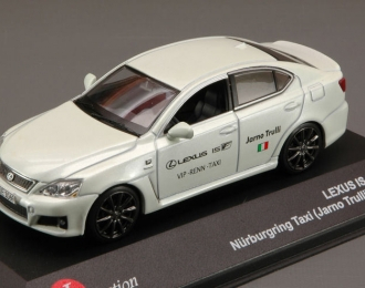 LEXUS IS-F Nurburing Taxi Jarno Trulli Version, white