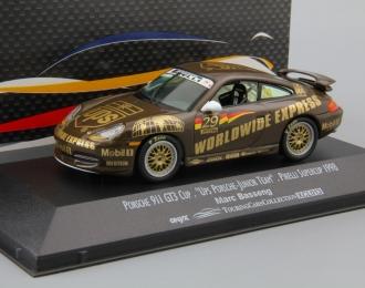 PORSCHE 911 GT3 Cup Marc Basseng #29, brown