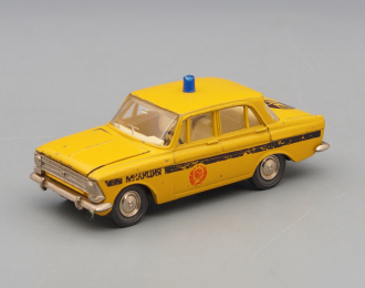 МОСКВИЧ 412 ГАИ (номерная А8), желтый