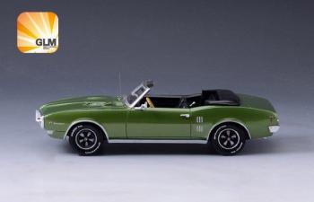 PONTIAC Firebird 400 Convertible (открытый) 1968 Green