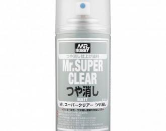 Аэрозольная краска Mr.SUPER CLEAR 170 мл (в баллоне)