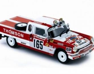 """PEUGEOT 404 Pick-Up #165 Puyfoulhoux """"Paris Dakar"""" 1979"""