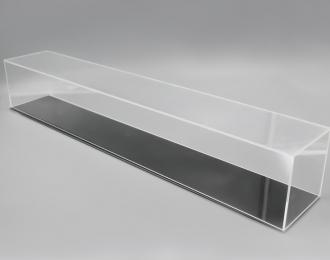 Прозрачный бокс для моделей (550х100х120мм)