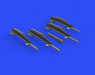 Дополнение к модели Ракеты Р-3Р с пилонами для МиГ-21