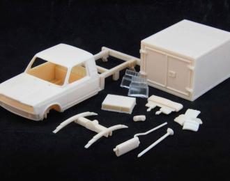 Транскит ВИС 23452 (ВАЗ 2107) изотермический фургон