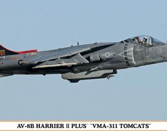 Сборная модель AV-8B VMA-311 TOMCATS