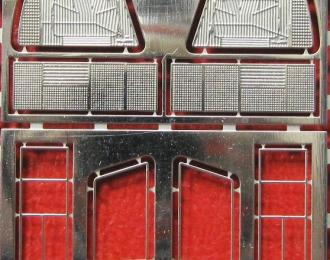 Фототравление Набор оптики ВАЗ 2108, никелирование