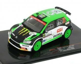 SKODA Fabia R5 EVO #27 WRC O.Solberg/A.Johnston Rally Monza (2020)