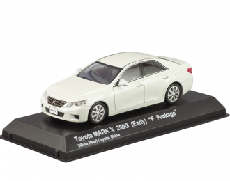 "TOYOTA Mark X 250G Early ""F Package"", white pearl crystal shine"