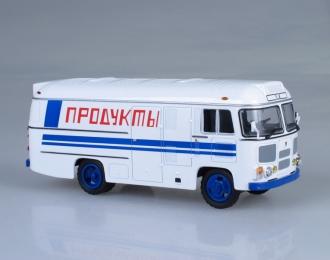 Павловский автобус 3742 Продукты, белый