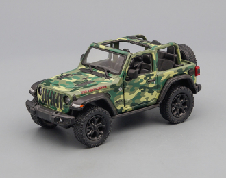 JEEP Wrangler Open (2018), camouflage green