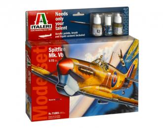 Сборная модель Spitfire Mk. Vb. (подарочный набор)