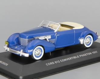 CORD 812 Convertible Phaeton (1937), blue