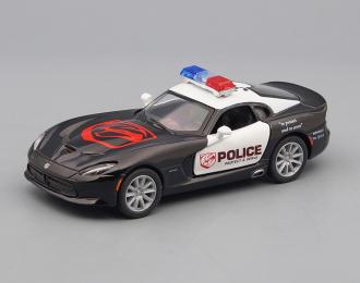 DODGE SRT Viper GTS Police (2013), black / white