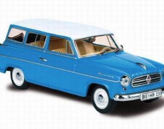 BORGWARD Isabella Combi 1960, blue