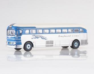 "GMC PD-3751 ""Greyhound Lines"" USA (1947), blue / silver"