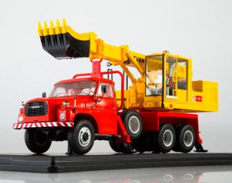 Экскаватор-планировщик UDS-110 (на шасси Tatra-148)