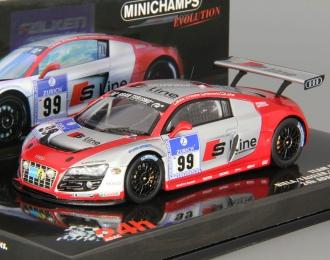 AUDI R8 LMS Team Phoenix Racing 24h ADAC Nurburgring (2010), red / silver