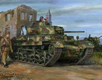 Сборная модель TURAN I Hungarian Medium Tank 40M