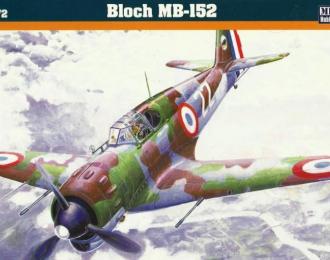 Сборная модель Самолет Bloch MB-152