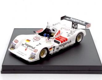 Joest Porsche Hagenuk / Fat #7 Michele Alboreto - Stefan Johansson - Tom Kristensen winner Le Mans 1997