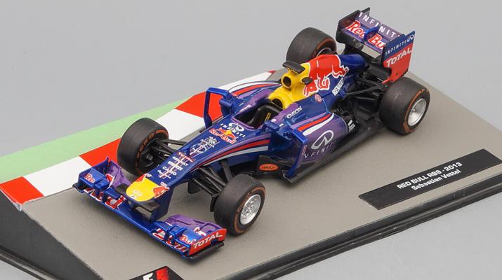 Red Bull RB9 2013 Себастьяна Феттеля, Formula 1 Auto Collection 8