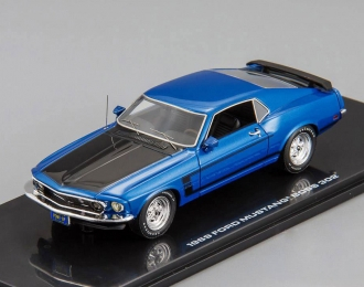 FORD Mustang Boss 302 (1969), acapulco blue metallic