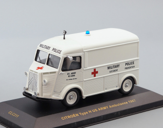 (Уценка!) CITROEN Type H U.S. Army Ambulance (1967), white