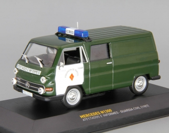 MERCEDES-BENZ N1300 Atestados E Informes Guardia Civil Police (1987), green / white