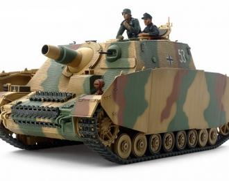 Сборная модель Самоходное орудие Sturmpanzer IV BRUMMBAR, поздняя версия  с 2 фигурами