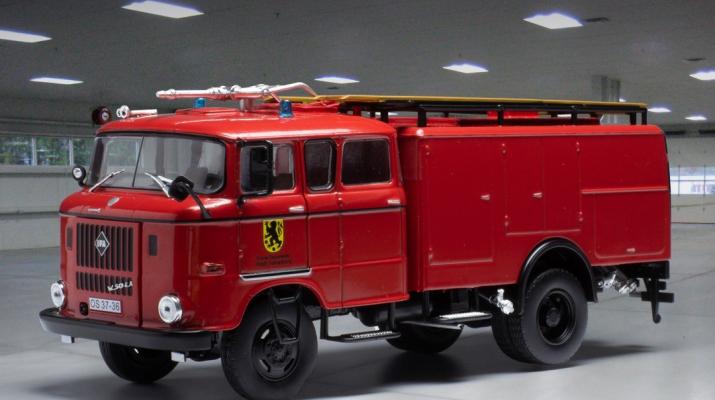 IFA W50 Pompiers Sonneberg