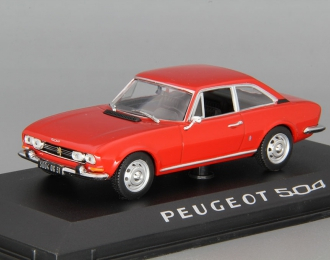 PEUGEOT 504 Coupe (1969), red