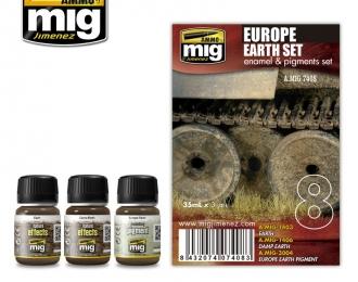 Набор для тонировки EUROPE EARTH SET (Европейская грязь)