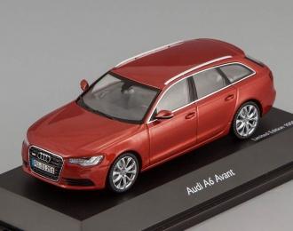 Audi A6 Avant 2012 (red)
