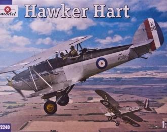 Сборная модель Британский легкий бомбардировщик Hawker Hart