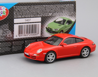PORSCHE 911 Carrera S, red