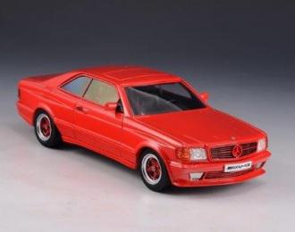 MERCEDES-BENZ AMG C126 6.0 (W126) 1984 Red