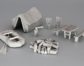 Комплект деталей Туристический лагерь