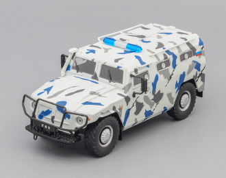 Горький-233036 Тигр СПМ-2, Милиция СССР 10, белый