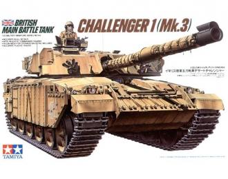 Сборная модель Англ. танк CHALLENGER 1 (Mk.3) с 2 фигурами