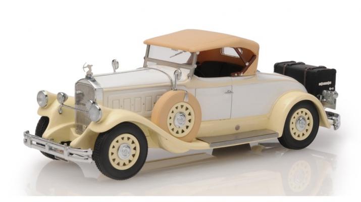 Pierce Arrow Model B Roadster 1930 closed roof (beige)