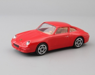 PORSCHE 911 Carrera 4, red