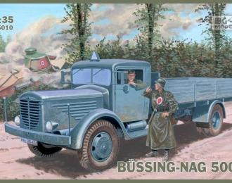 Сборная модель Немецкий грузовой автомобиль Bussing-Nag 500S