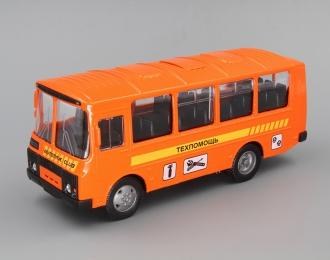 Павловский автобус 32053 Техпомощь, оранжевый