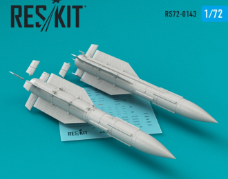 R-33 missile (4 pcs) (MiG-31)